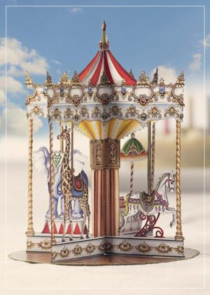 Carousel - greeting card