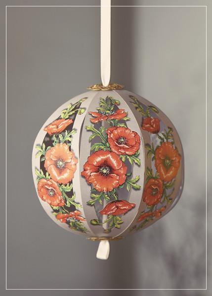 Poppy flower - greeting card