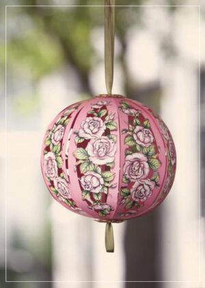 Rose Flower Ball - greeting card