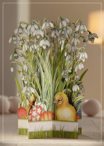 Snowdrops - greeting card