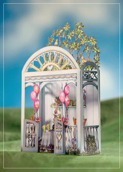 Tea pavilion - greetibg card